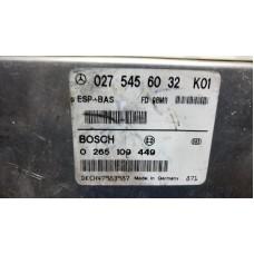0275456032 Mercedes W168 ESP BAS MOTOR BEYNİ