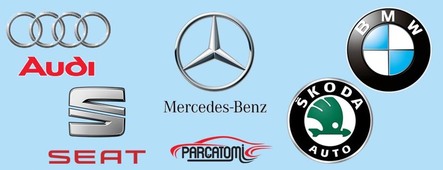 Audi, Seat, Mercedes Benz, BMW, Skoda
